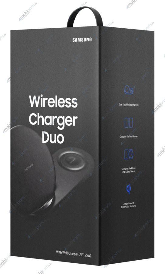 Bộ sạc không dây Samsung Wireless Charger Duo lộ diện, có thể ra mắt cùng với Galaxy Note9 - Ảnh 1.