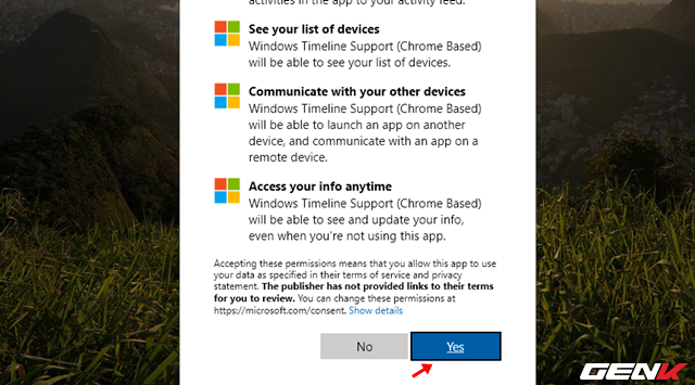 Mang tính năng Timeline của Windows 10 lên Google Chrome - Ảnh 5.