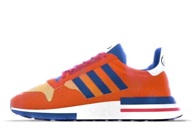 Cùng soi Goku và Frieza, hai mẫu giày trong BTS adidas x Dragon Ball Z sẽ lên kệ vào tháng 8 - Ảnh 2.
