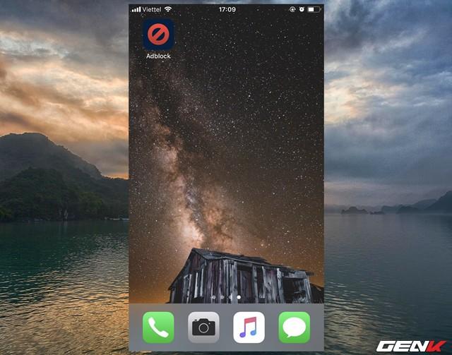 Sau khi tải xong, hãy khởi động ứng dụng từ màn hình chính.