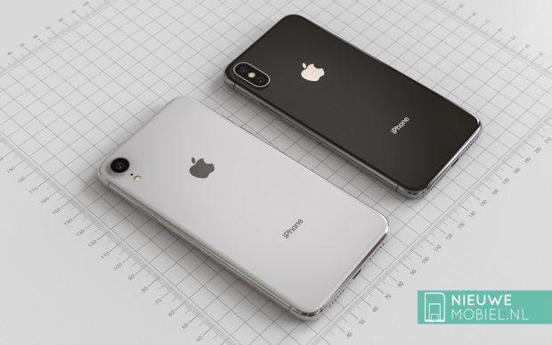 Cùng chiêm ngưỡng iPhone 9 nằm cạnh iPhone X 2018 trong những tấm hình render tuyệt đẹp - Ảnh 2.