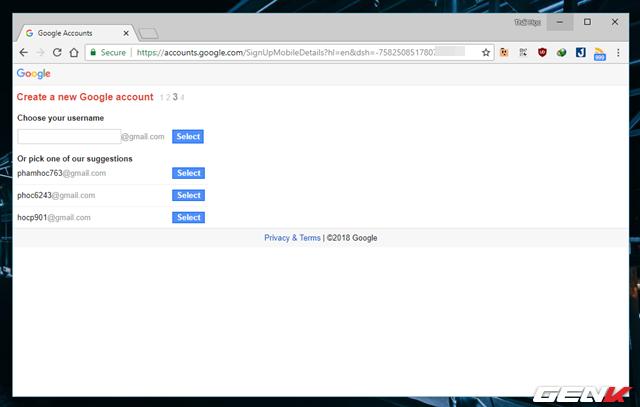 Thủ thuật đăng ký nhiều tài khoản Gmail với chỉ 01 số điện thoại - Ảnh 7.