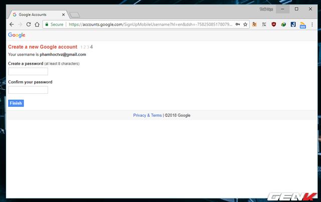 Thủ thuật đăng ký nhiều tài khoản Gmail với chỉ 01 số điện thoại - Ảnh 8.
