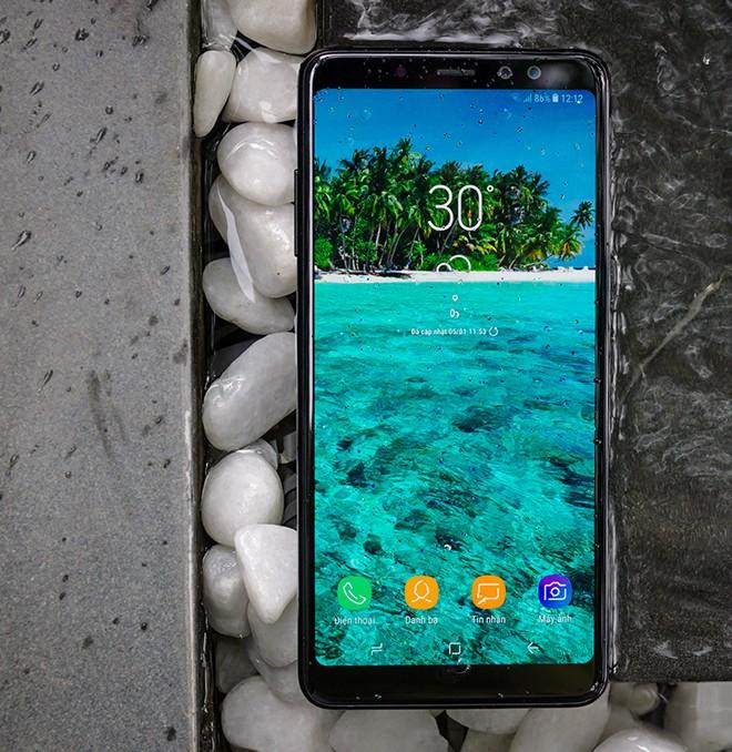Đánh giá Galaxy A8: 4 điểm để yêu, 5 điều để nhớ - Ảnh 15.