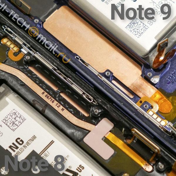 Mổ bụng sớm Samsung Galaxy Note9: Hệ thống tản nhiệt ngang tầm laptop - Ảnh 2.