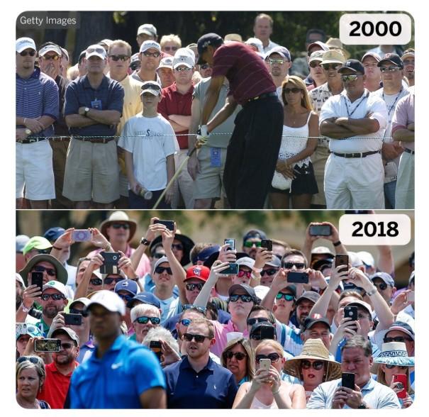 2 tấm ảnh chụp cách nhau 16 năm của golf thủ lừng danh Tiger Woods cho chúng ta thấy sự tiến hóa của công nghệ - Ảnh 4.