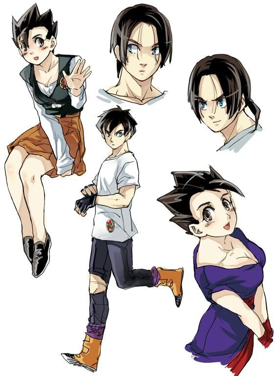 Lác mắt khi thấy các nhân vật trong Dragon Ball hóa thân thành mỹ nhân nóng bỏng - Ảnh 14.