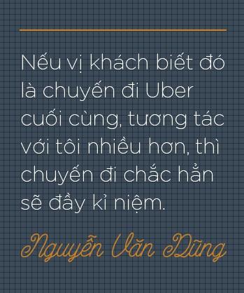 """Trò chuyện với tài xế Uber """"6 sao"""" đầu tiên ở Việt Nam: Cõng khách vượt qua quãng đường ngập, trong xe lúc nào cũng có sẵn khăn ướt, nước uống, dù phòng bị cho khách - Ảnh 2."""