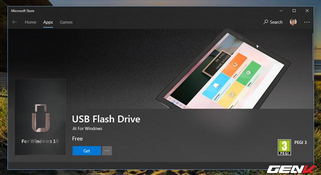 Dùng thử USB Flash Drive: Ứng dụng File Explorer chuyên dụng dành cho USB trên Windows 10 - Ảnh 1.