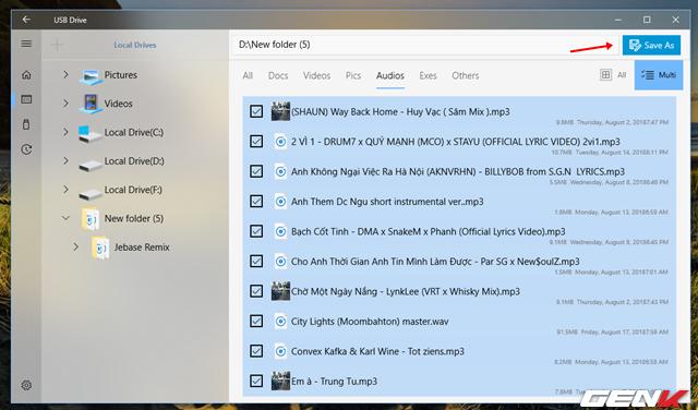 Dùng thử USB Flash Drive: Ứng dụng File Explorer chuyên dụng dành cho USB trên Windows 10 - Ảnh 8.