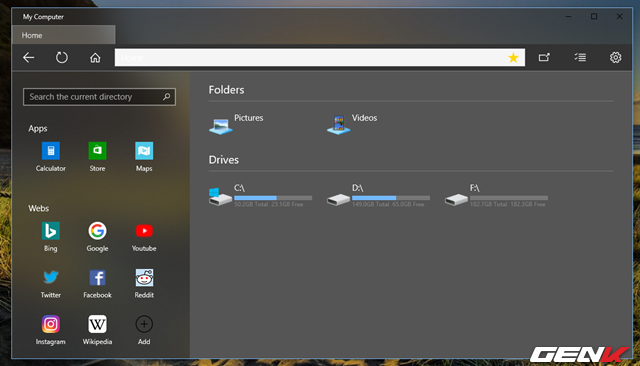 Dùng thử My Computer, bản nâng cấp hoàn hảo của File Explorer trên Windows 10 - Ảnh 4.