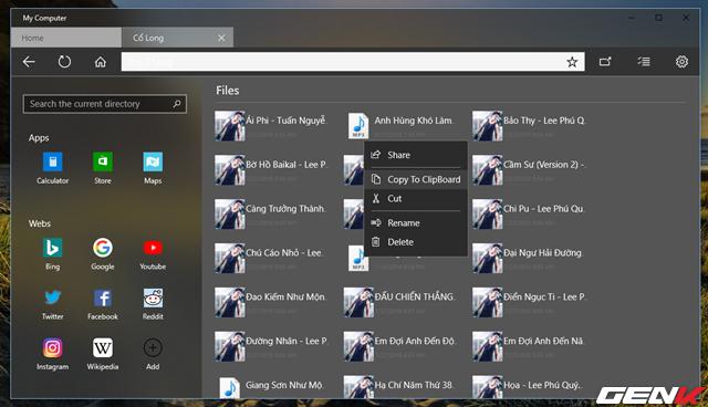 Dùng thử My Computer, bản nâng cấp hoàn hảo của File Explorer trên Windows 10 - Ảnh 7.