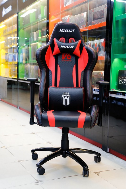 SoleSeat V6 Gaming Chair: Bỏ 6 triệu đồng mua ghế gaming như ngồi trên xe đua - Ảnh 2.