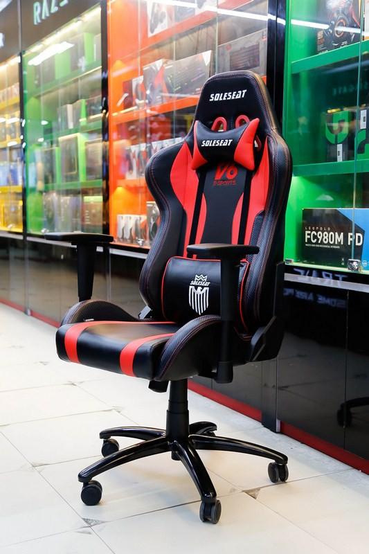 SoleSeat V6 Gaming Chair: Bỏ 6 triệu đồng mua ghế gaming như ngồi trên xe đua - Ảnh 8.