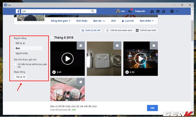Facebook cung cấp tính năng xóa nhiều bài đăng cùng lúc, và đây là cách sử dụng - Ảnh 3.