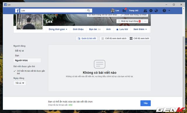 Facebook cung cấp tính năng xóa nhiều bài đăng cùng lúc, và đây là cách sử dụng - Ảnh 4.