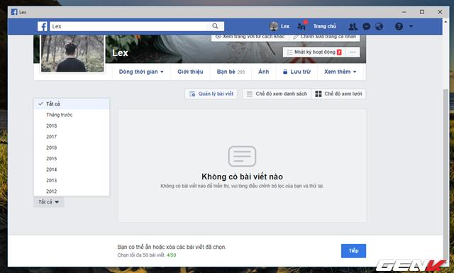 Facebook cung cấp tính năng xóa nhiều bài đăng cùng lúc, và đây là cách sử dụng - Ảnh 5.