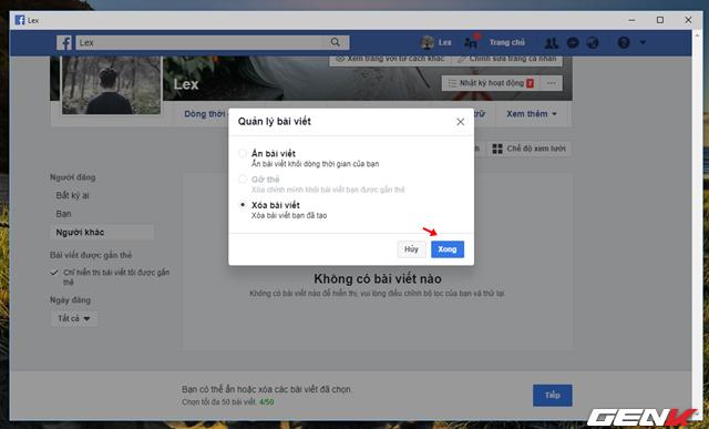 Facebook cung cấp tính năng xóa nhiều bài đăng cùng lúc, và đây là cách sử dụng - Ảnh 7.