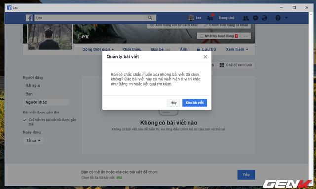 Facebook cung cấp tính năng xóa nhiều bài đăng cùng lúc, và đây là cách sử dụng - Ảnh 8.