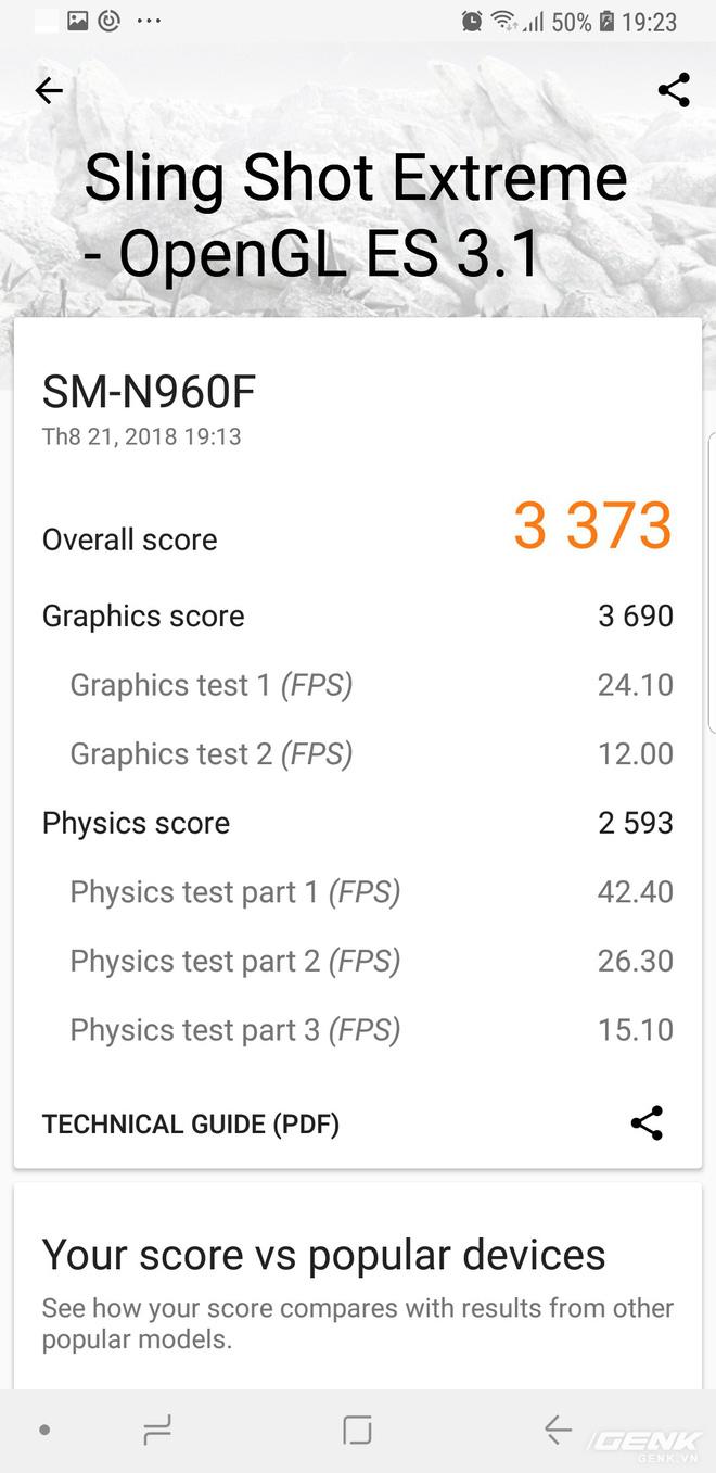 Đánh giá chi tiết hiệu năng Galaxy Note9: hệ thống tản nhiệt là điều đáng nói nhất - Ảnh 6.