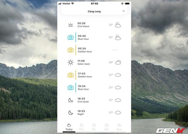 Thời tiết lúc nào để cho ra những bức ảnh ngoài trời đẹp nhất? WeatherScout sẽ trả lời cho bạn - Ảnh 6.