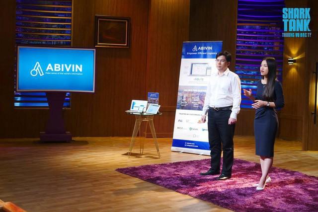 Chồng tốt nghiệp Cambridge về khoa học máy tính, vợ tự tin bài toán này ít công ty trên thế giới giải được, nuôi tham vọng thành Unicorn, startup logistics Abivin nhận 200.000 USD từ Shark Dzung - Ảnh 1.