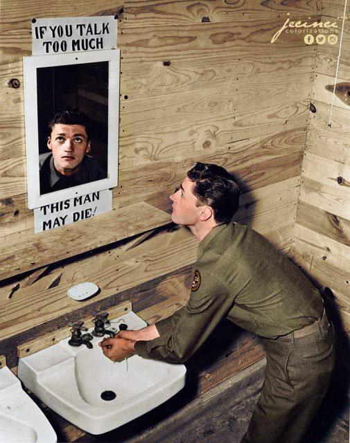 Ngỡ ngàng trước những bức ảnh lịch sử Thế chiến thứ 2 đã được phục chế và tô màu - Ảnh 11.