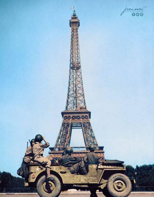 Ngỡ ngàng trước những bức ảnh lịch sử Thế chiến thứ 2 đã được phục chế và tô màu - Ảnh 19.