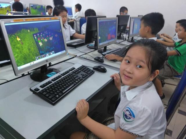 Trường tiểu học tại Hà Nội đưa Minecraft vào giảng dạy cho học sinh - Ảnh 2.