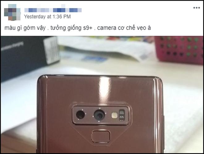 Nhiều người tá hỏa vì Galaxy Note 9 mới tinh đã lệch camera, Samsung lên đăng đàn sự thật ngay lập tức - Ảnh 2.