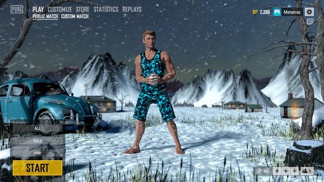 Gần Noel, Blue hole chơi lớn khi đưa giao diện mùa Đông tuyệt đẹp vào PUBG - Ảnh 3.