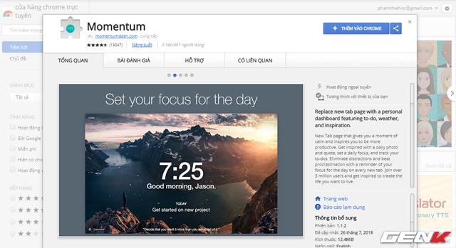 Bổ sung chế độ màn hình nhắc việc cho Google Chrome - Ảnh 2.