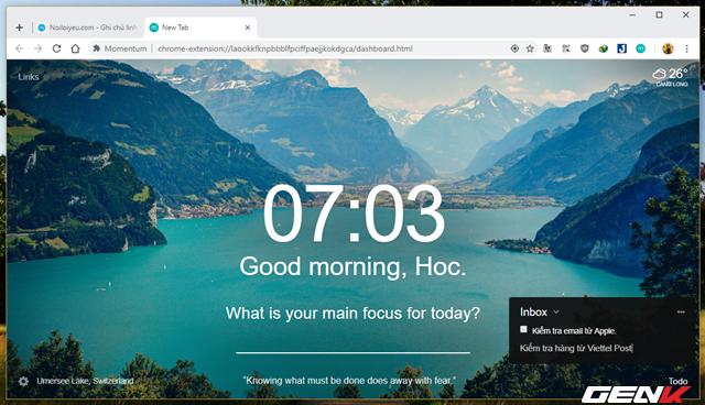 Bổ sung chế độ màn hình nhắc việc cho Google Chrome - Ảnh 8.