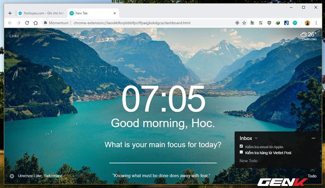 Bổ sung chế độ màn hình nhắc việc cho Google Chrome - Ảnh 9.
