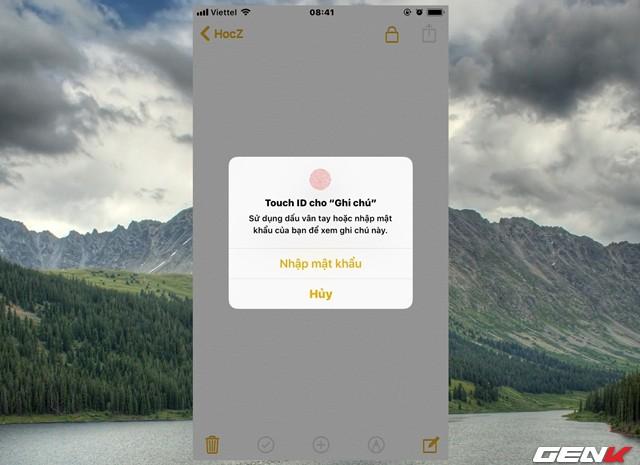 Dùng iPhone đã lâu, bạn có biết rằng mình có thể đặt mật khẩu cho ứng dụng Ghi chú hay không? - Ảnh 12.