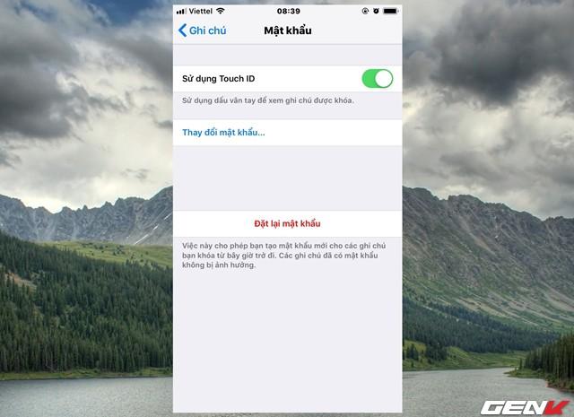 Dùng iPhone đã lâu, bạn có biết rằng mình có thể đặt mật khẩu cho ứng dụng Ghi chú hay không? - Ảnh 4.
