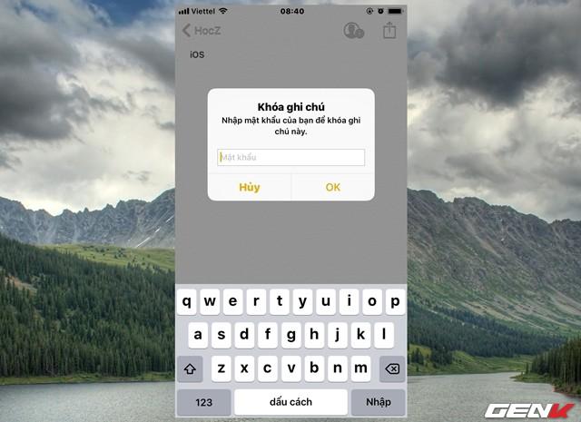 Dùng iPhone đã lâu, bạn có biết rằng mình có thể đặt mật khẩu cho ứng dụng Ghi chú hay không? - Ảnh 8.