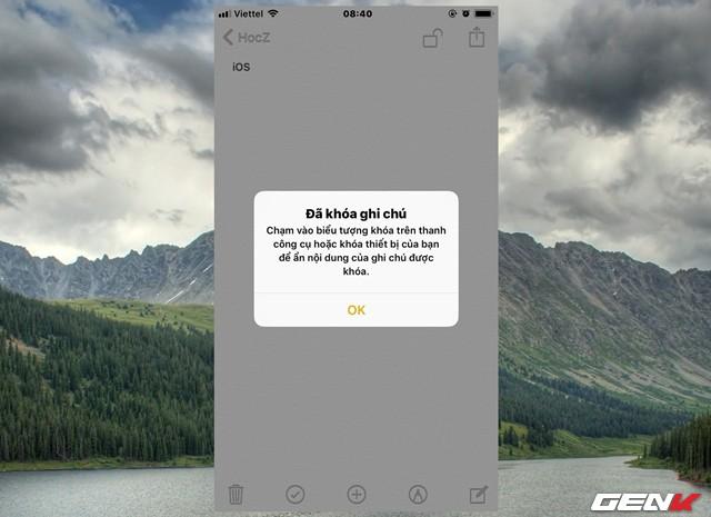 Dùng iPhone đã lâu, bạn có biết rằng mình có thể đặt mật khẩu cho ứng dụng Ghi chú hay không? - Ảnh 9.