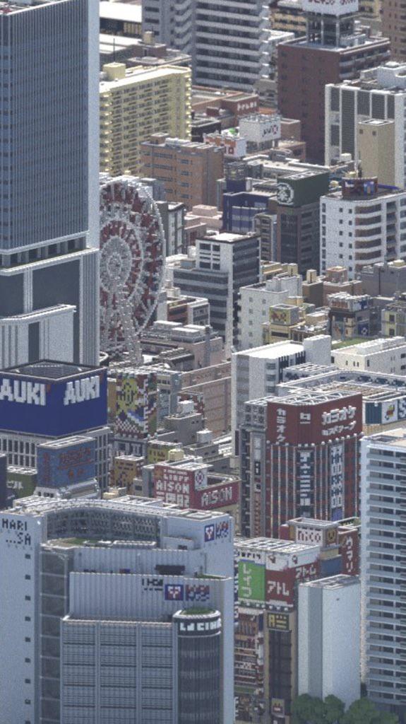 Ngỡ như đô thị sầm uất ở Nhật, loạt ảnh này lại được chụp trong Minecraft - Ảnh 7.