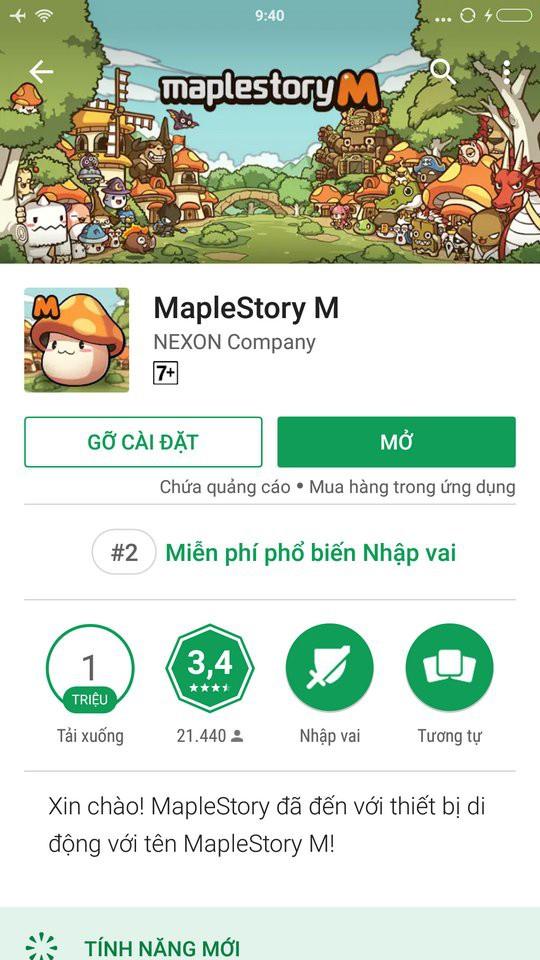 MapleStory M bất ngờ đứng top một loạt bảng xếp hạng game tại Châu Á - Ảnh 3.