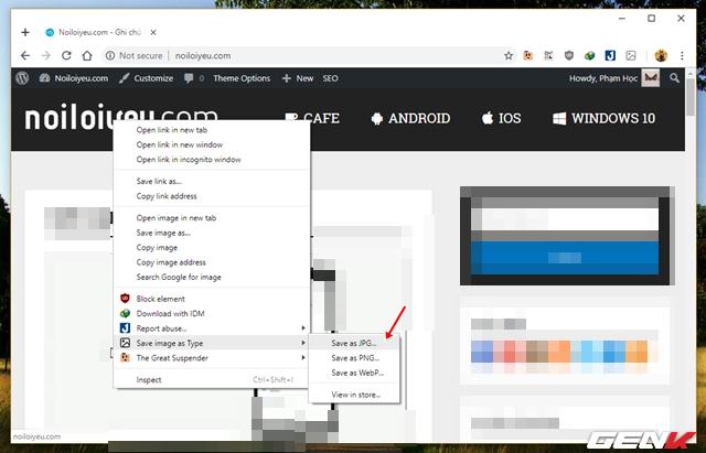 Khắc phục lỗi lưu ảnh tự đổi sang định dạng JFIF trên Google Chrome 68 trong Windows 10 - Ảnh 11.