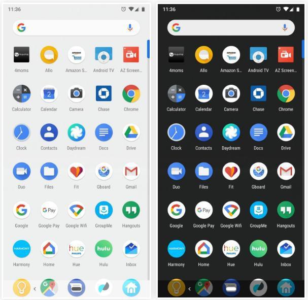 Xem chế độ Dark Mode chính chủ trên Android 9 Pie - Ảnh 5.