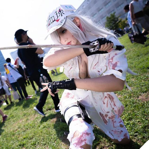 Nóng bỏng mắt với bộ ảnh cosplay cực sexy của nàng Bạch Cầu trong anime đình đám Cells at Work - Ảnh 14.