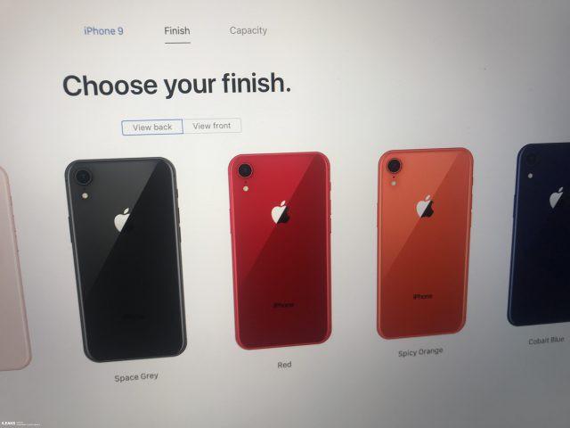 Trang giới thiệu iPhone 9 bị rò rỉ: thêm 2 màu mới là Spicy Orange và Cobalt Blue, dùng cáp USB C sang Lightning và có hỗ trợ sạc nhanh - Ảnh 1.