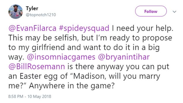 Lời cầu hôn bí mật trong game Spider-Man PS4 bỗng trở thành Easter Egg buồn nhất năm 2018 - Ảnh 1.