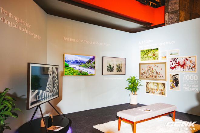 Samsung chính thức giới thiệu TV khung tranh The Frame 2.0 và loa Sound Bar HW-N950 đến người dùng Việt Nam - Ảnh 1.