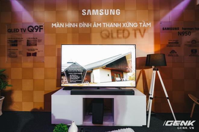 Samsung chính thức giới thiệu TV khung tranh The Frame 2.0 và loa Sound Bar HW-N950 đến người dùng Việt Nam - Ảnh 7.