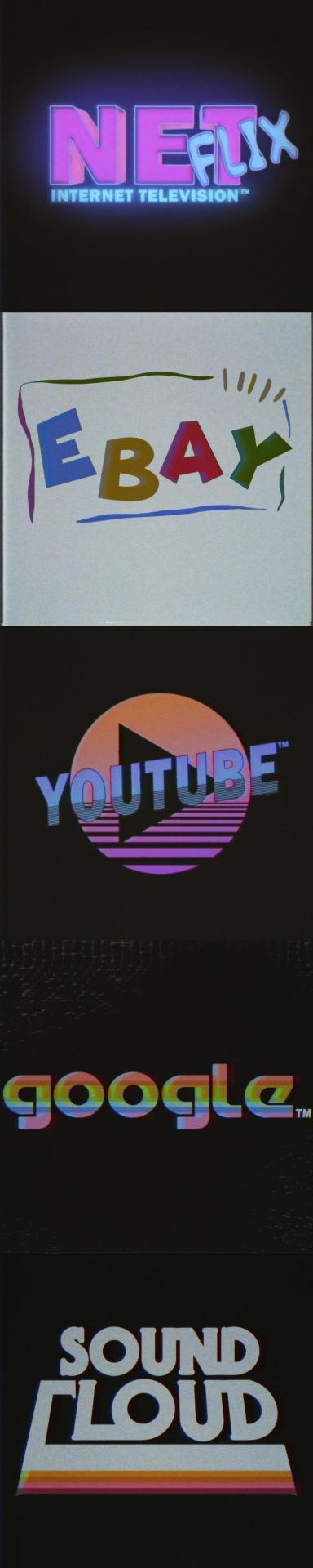 Logo của Reddit, Amazon và SoundCloud trông sẽ như thế nào nếu ra đời vào những năm 1980s? - Ảnh 3.