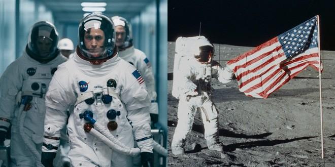 Vừa ra mắt, bộ phim tiểu sử Neil Armstrong hứng gạch vì thiếu cảnh cắm cờ - Ảnh 2.