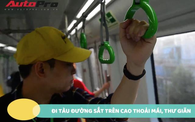 Trải nghiệm thực tế đi xe máy từ Hà Đông đến Cát Linh: Chậm hơn tàu điện mà còn phải chịu bụi bẩn! - Ảnh 1.